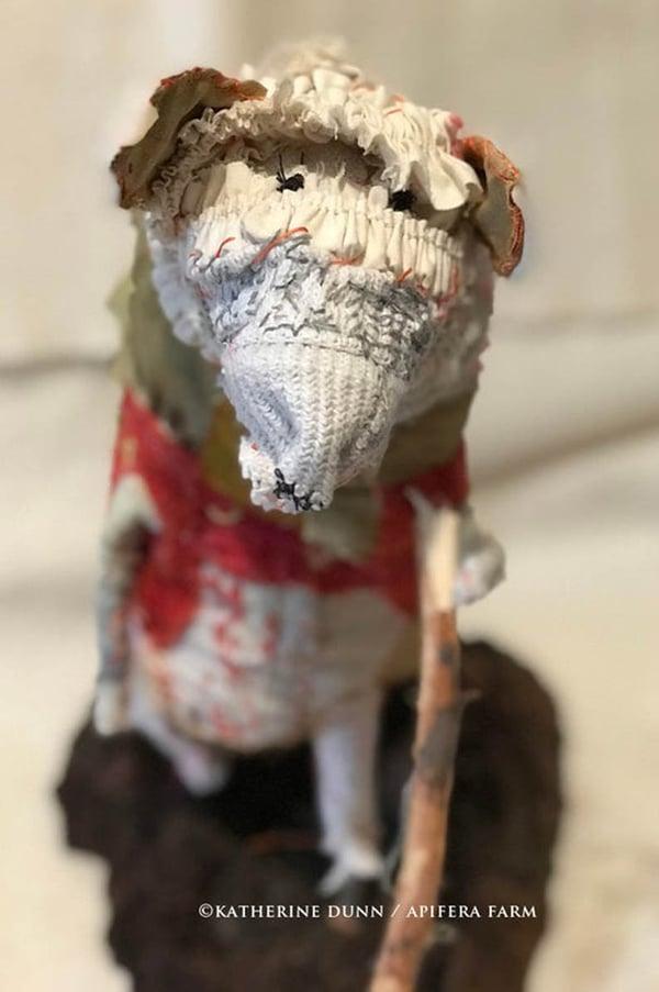 Image of Mrs. Studley an elderly rat