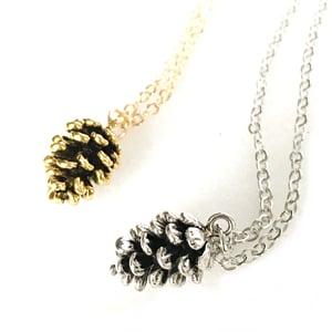 Image of Dainty Pinecone Pendant