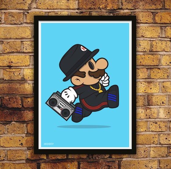 Image of RunBro! Limited Edition Print plus free holo' & mystery sticker!