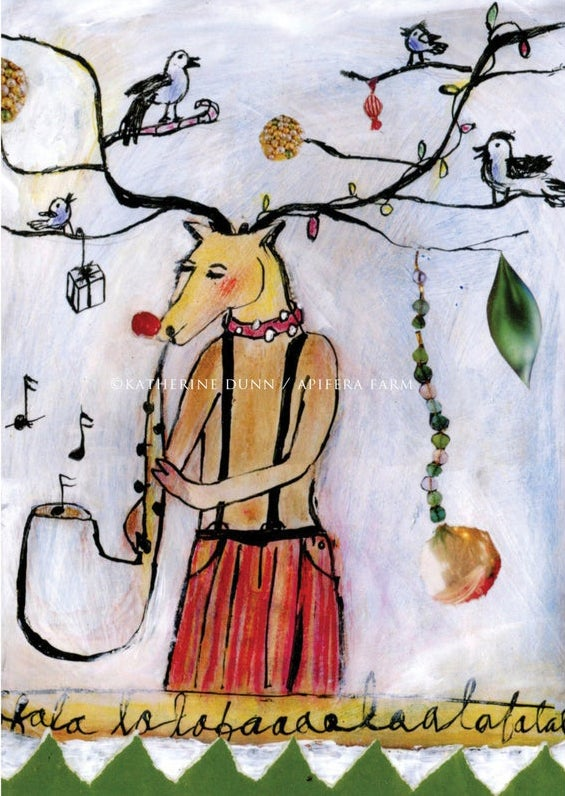 Image of Reindeer Bird Band