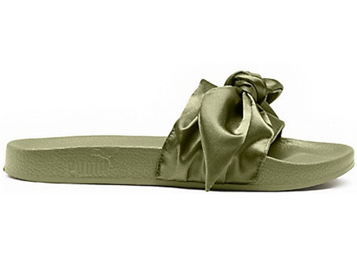 Image of Bow Slide x Fenty By Rihanna Olive
