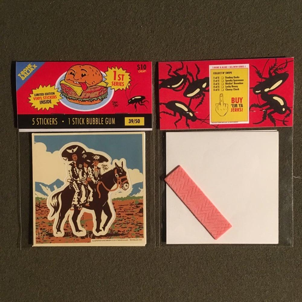 Image of T-Bone & Aljax Sticker Pack Series 1