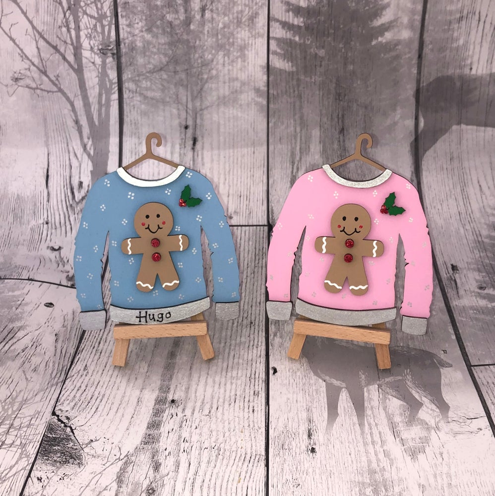 Image of Gingerbread Christmas Jumper