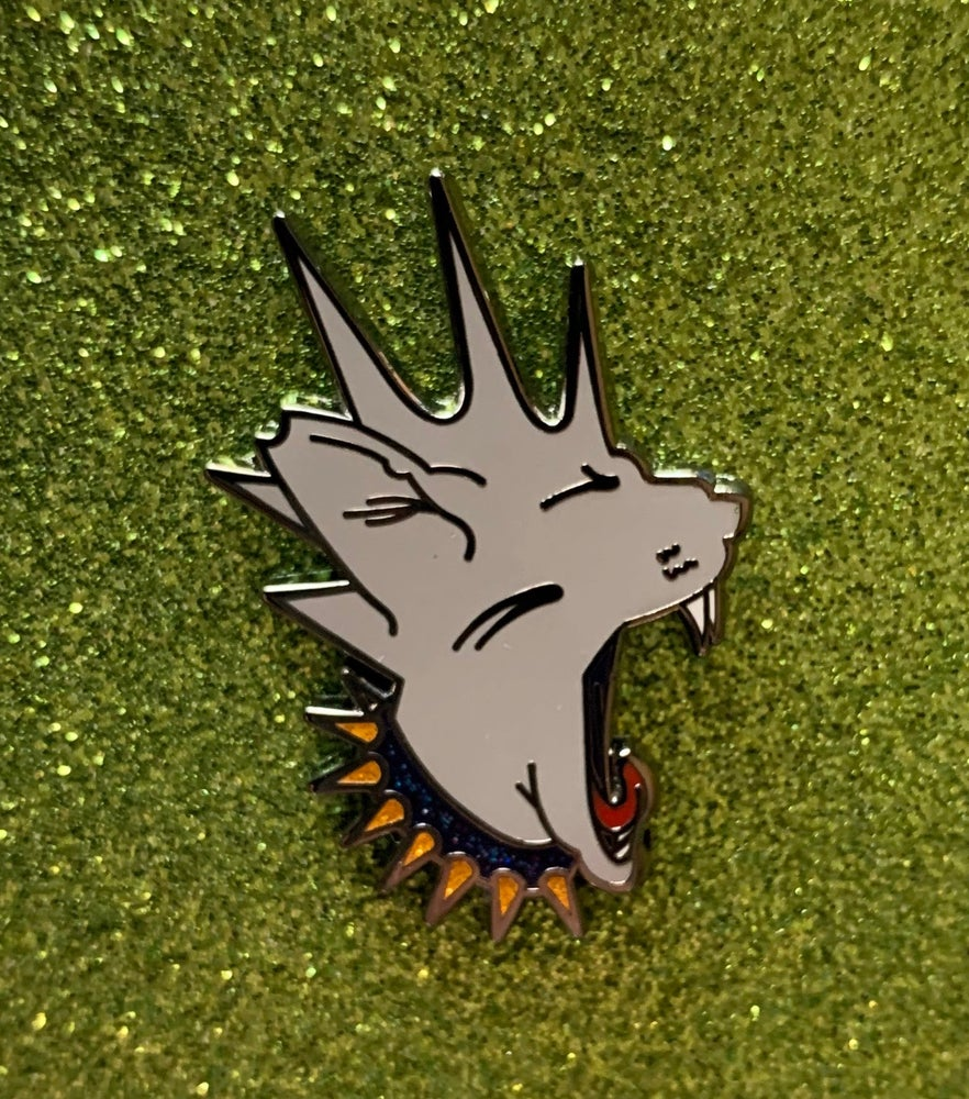 Image of Perry Feral Soft Enamel Pin
