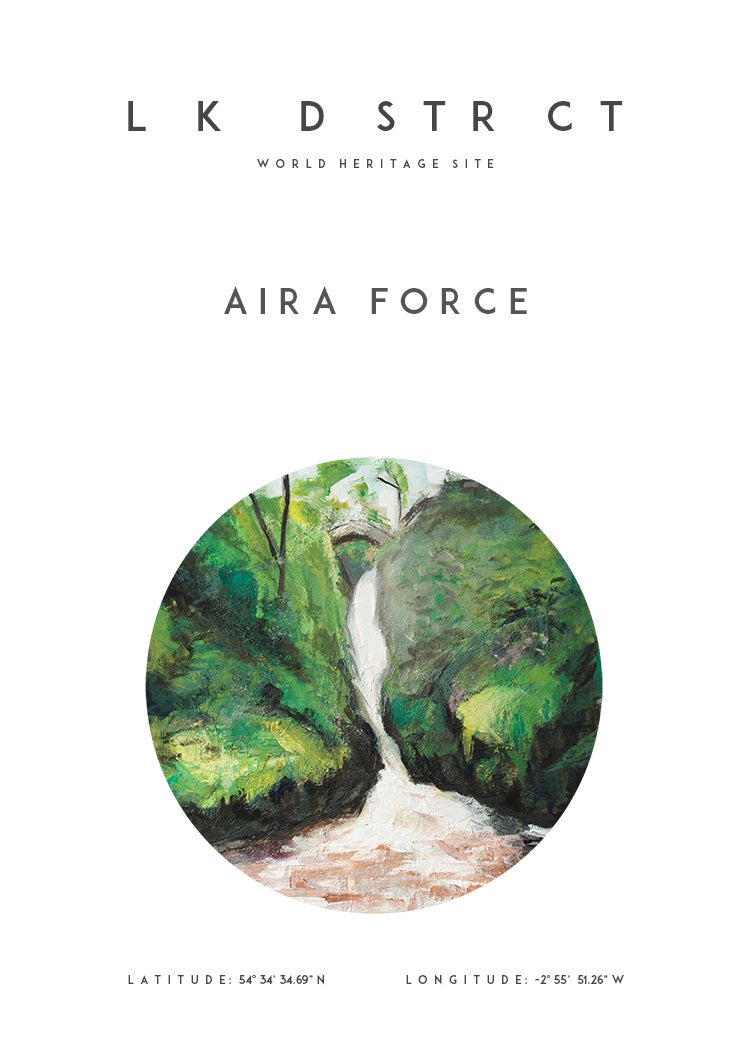 Image of Aira Force Coordinates - A2/A3 Print