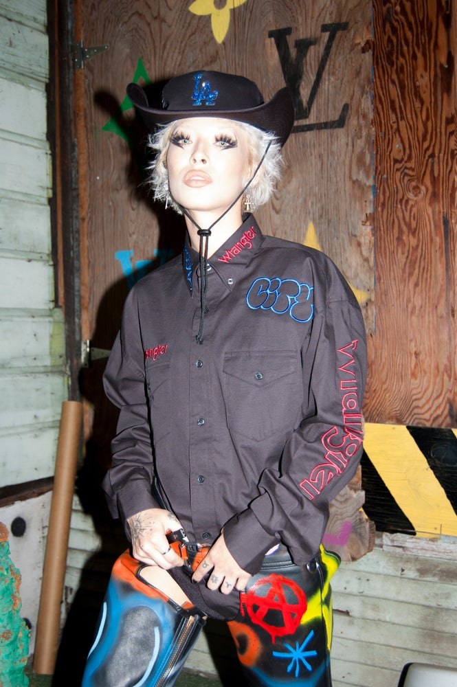 Image of Graffiti Goth Cowgirl