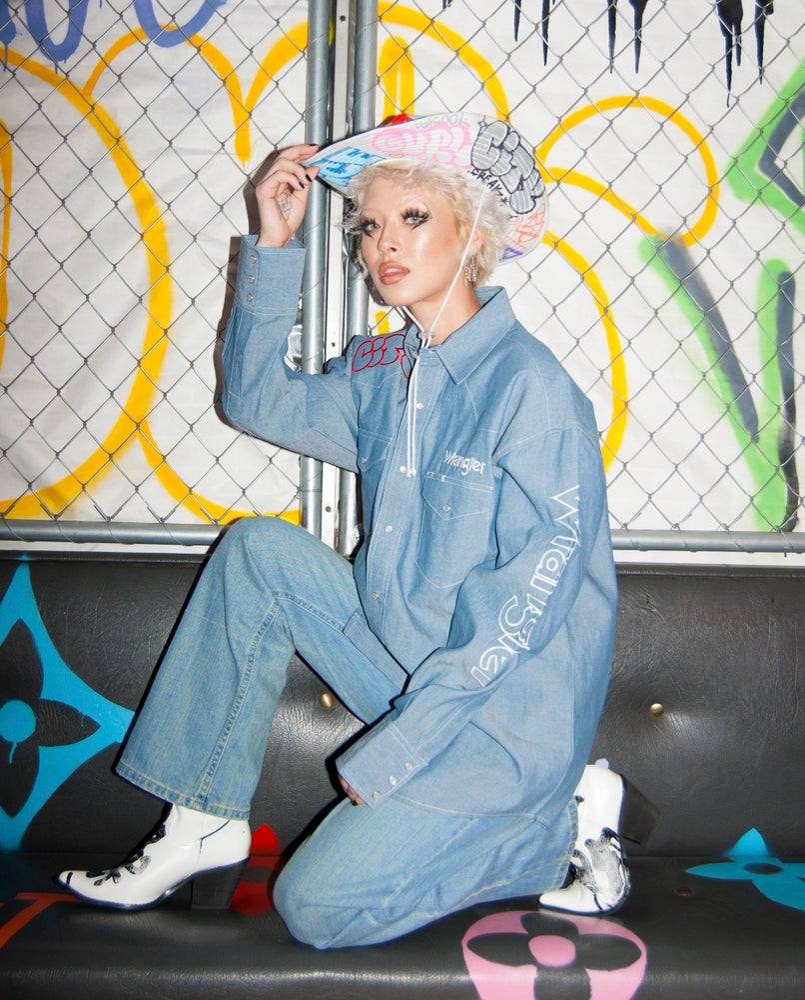 Image of Graffiti cowgirl
