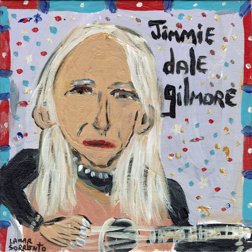 "Image of Jimmie Dale Gilmore - Close Companion b/w What If I Became The Sky? (Translucent Green 7"" Single)"