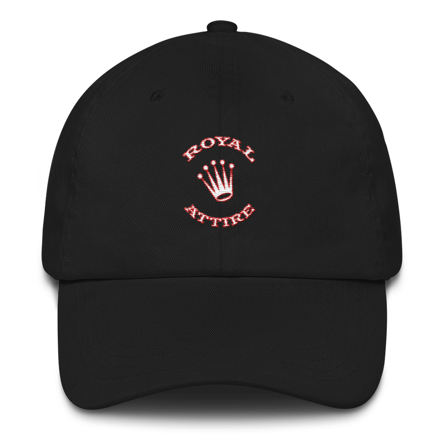 Image of Black White & Red Dad Hat