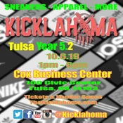 Image of Kicklahoma Tulsa Year 5.2 10.6.19