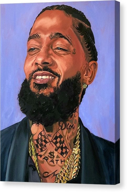 "Image of ""Nipsey"" Original Painting"