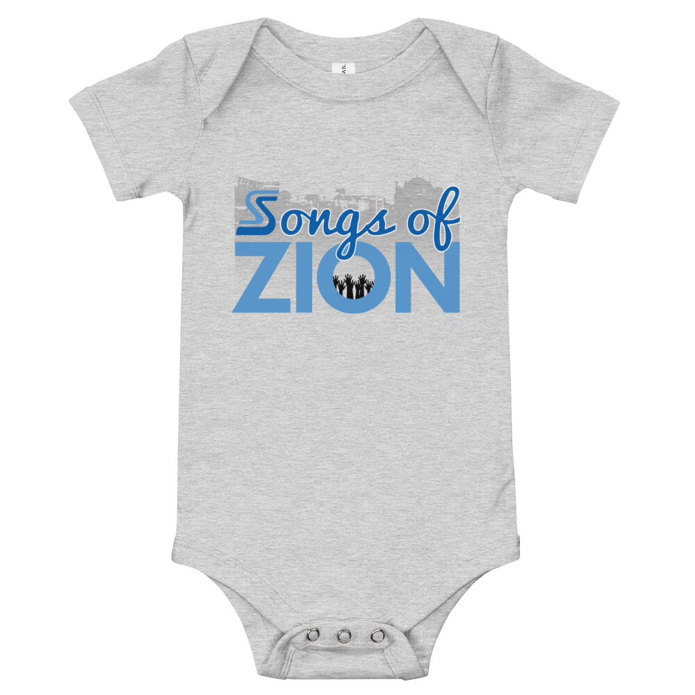 Image of Baby Songs of Zion Short Sleeve Snap Tee