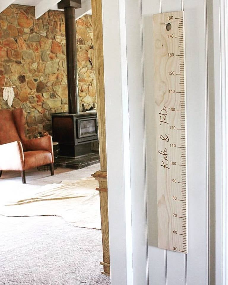 Image of Wooden Height Ruler