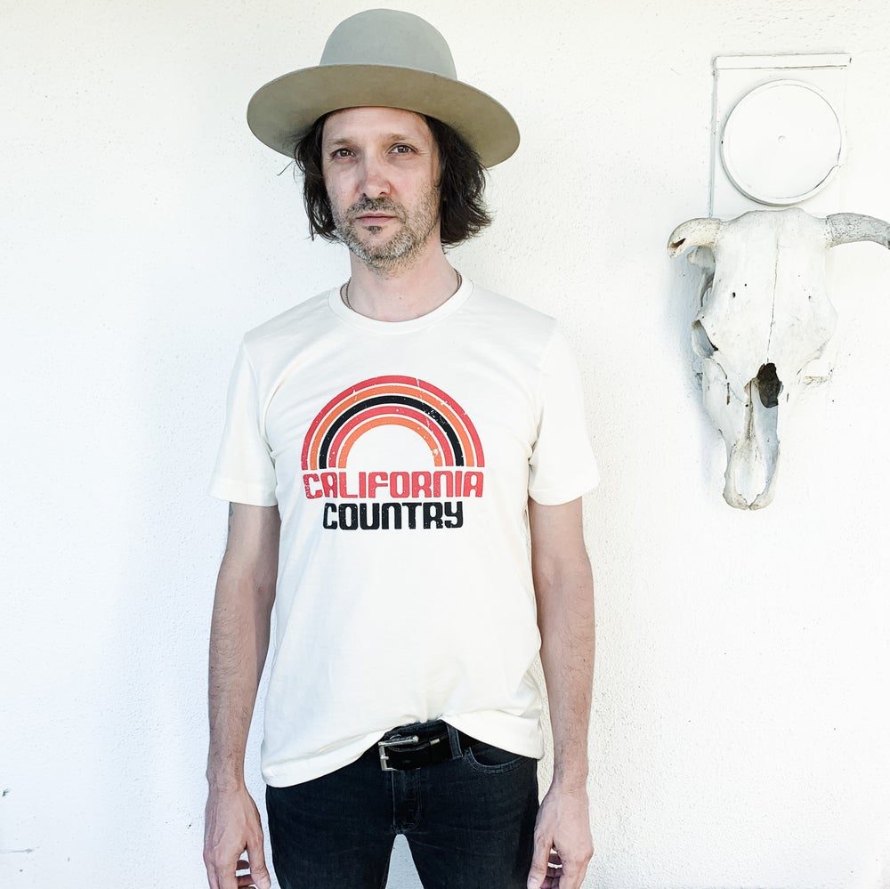 Image of California Country Mens Tees - Vintage White
