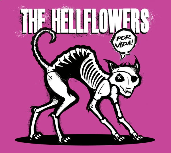 Image of The Hellflowers - Por Vida - CD Digipak