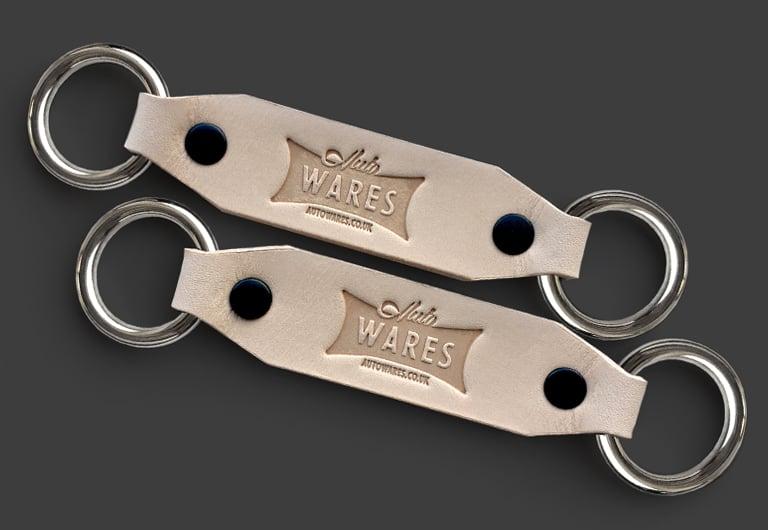 Image of Splitscreen Leather Window Latch Locks