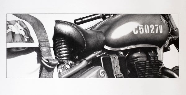 Image of 'Ridden in Tribute' *Limited Edition Print*