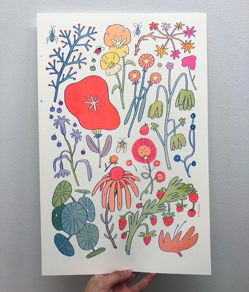 Image of Large 11x17 Flower Poster Print