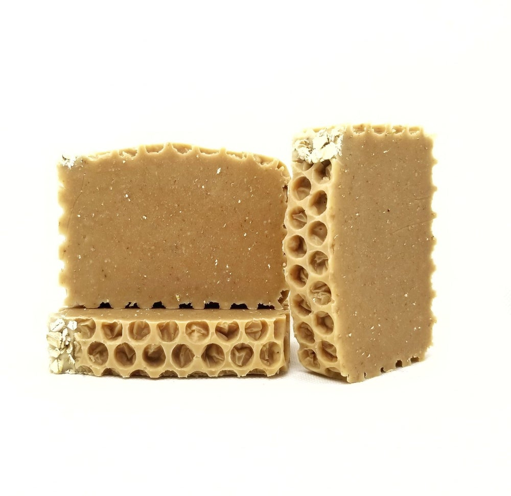 Image of OMH! Oatmeal, Milk, and Honey Goat Milk Soap