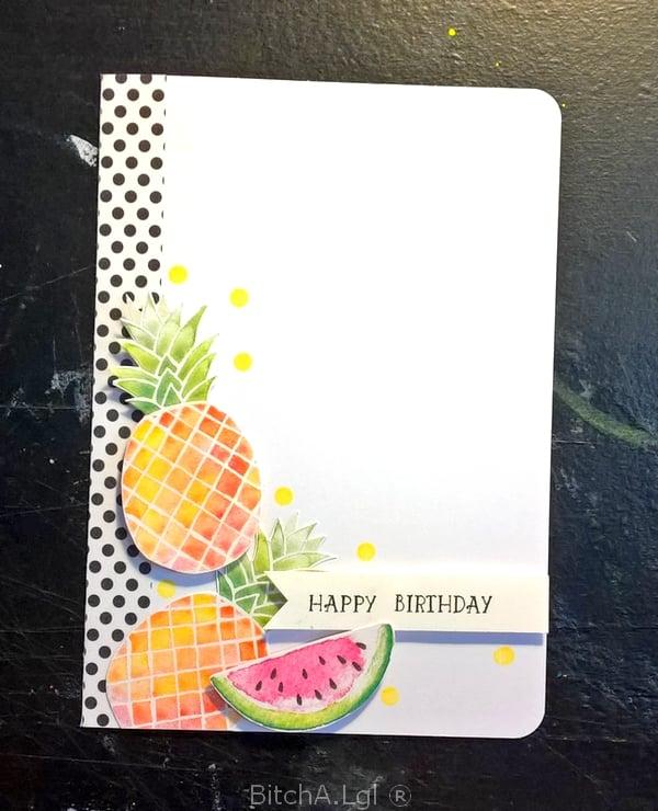 Image of Carte d'anniversaire 02