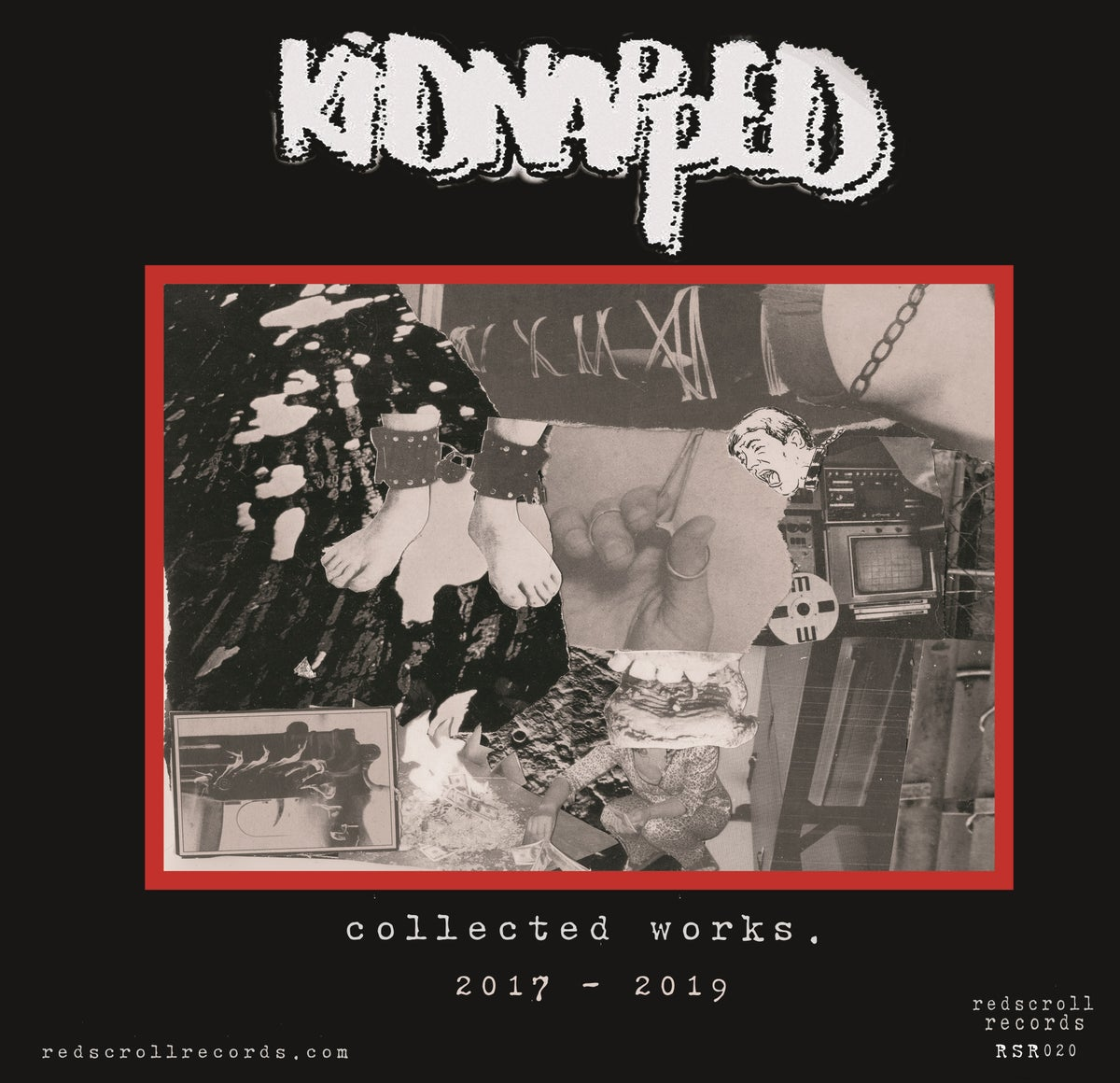 Image of [RSR 020] Kidnapped - Collected Works 2017-2019 LP