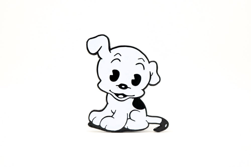 Image of Betty Boop - Pudgy Dog Enamel Pin