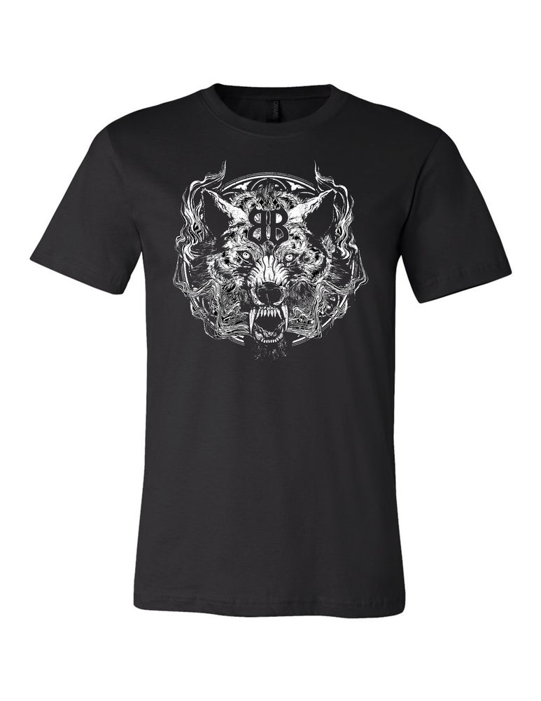 "Image of OFFICIAL - BEASTO BLANCO - ""WOLF"" LIMITED ED. TOUR UNISEX BLACK SHIRT"