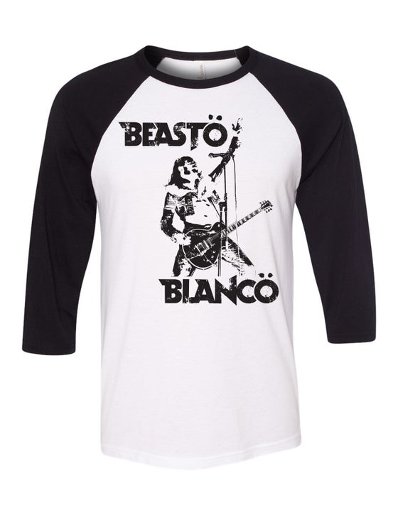 "Image of OFFICIAL - BEASTO BLANCO - ""BREAKDOWN"" RE-ISSUE 3/4 SLEEVE SHIRT"