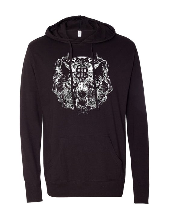 """Image of OFFICIAL - BEASTO BLANCO - """"WOLF"""" PULLOVER HOODIE"""