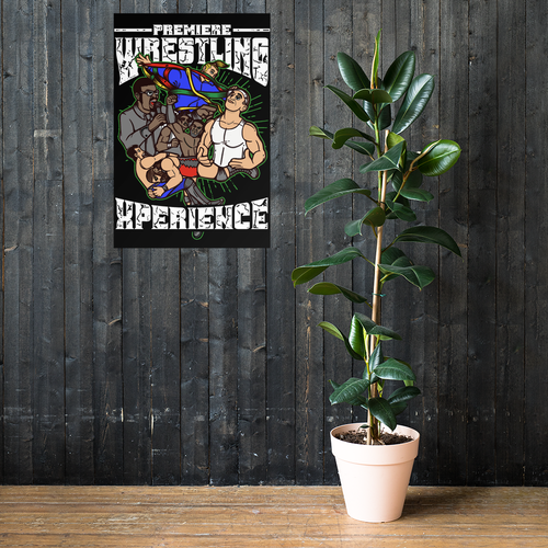 Image of PWX Cartoon Poster