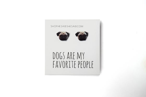 Image of Dog Earrings