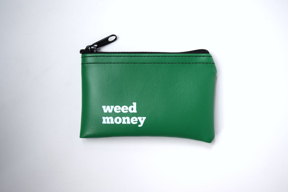 Image of Weed Money zip pouch