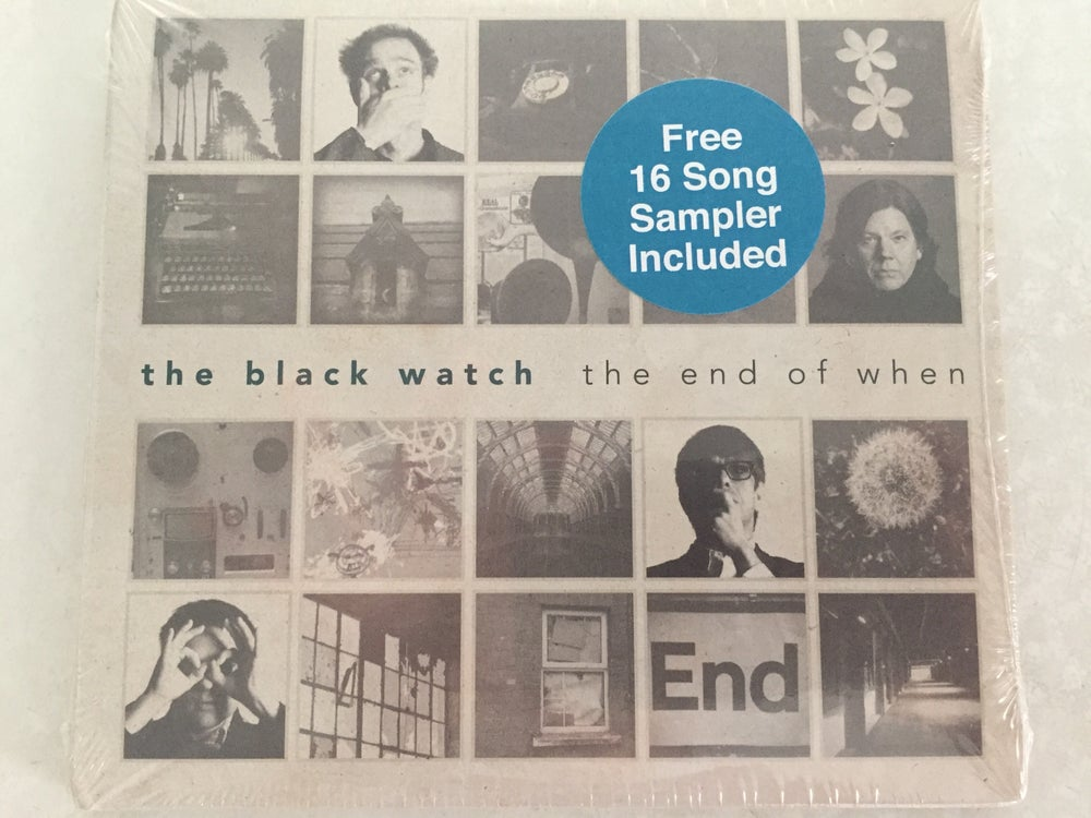 Image of The Black Watch - The End of When (CD) + Bonus Disc
