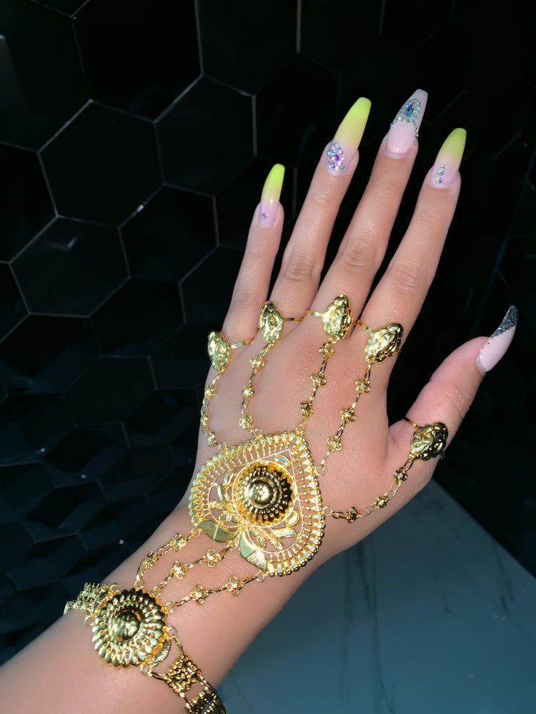 Image of Drippin in Gold Hand piece