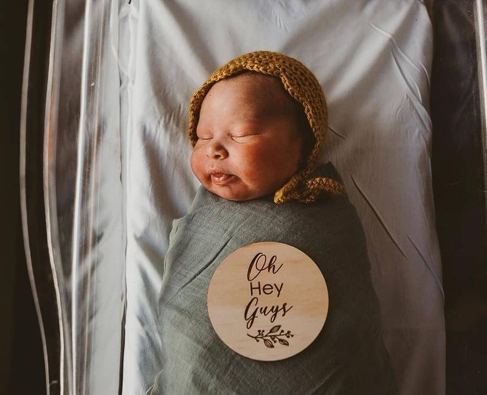 Image of Baby Milestone Cards