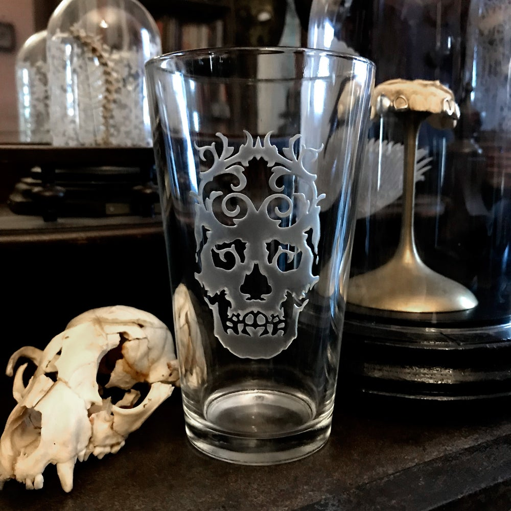 Image of Skull King Pint Glass