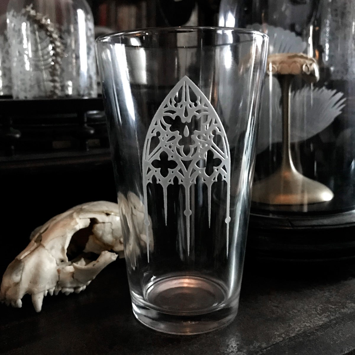 Image of Angels Take Poisons Pint Glass