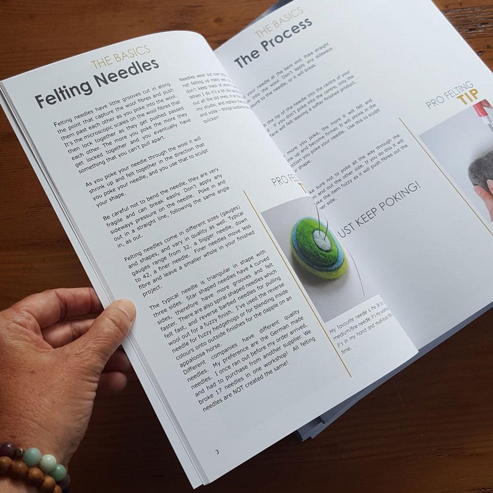 Next Level FELTING - paperback book