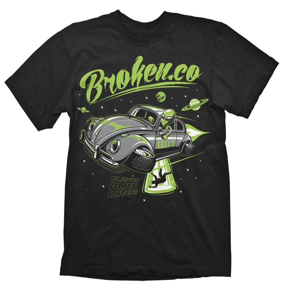 Image of UFO Beetle Area 51 T-Shirt