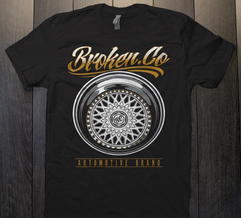 Image of Broken.co BBS Wheel