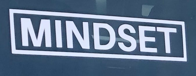 Image of XL MINDSET DECAL