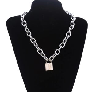 Image of Chunky padlock necklace