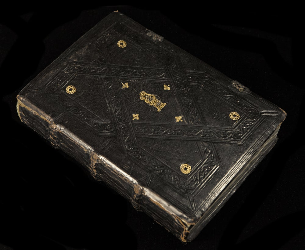 Image of Scarce 1555 Venetian printing of the Liber Sacerdotalis with original binding