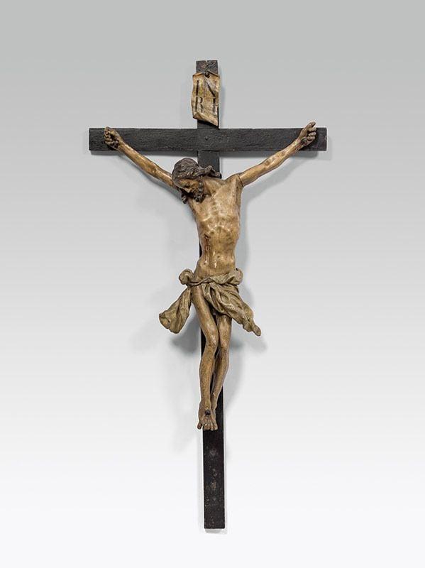 Image of An impressive mid-18th century Crucifix by Johann Joseph Christian