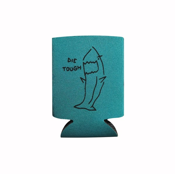 "Image of Aqua ""Shark"" Koozie"