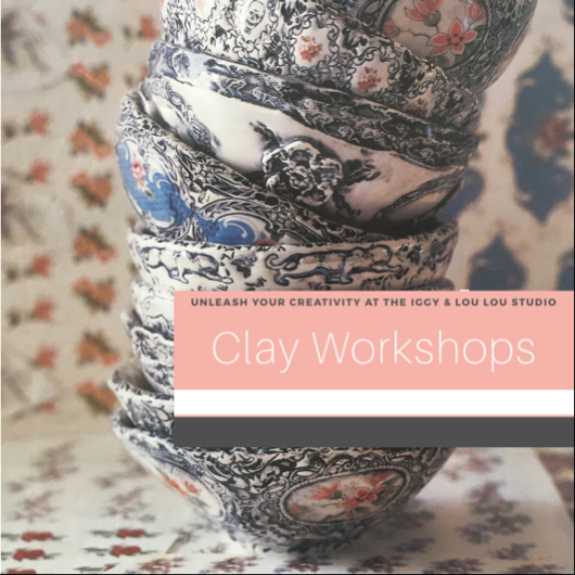 Image of Clay Master Class - Textural slip cast bowl - September sessions
