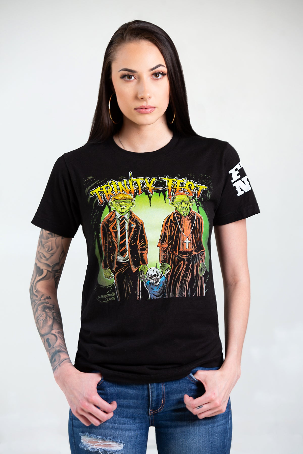 Image of TRINITY TEST - FULL COLOR shirts