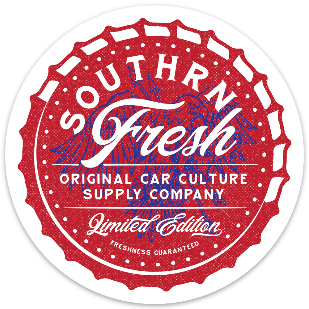 Image of Southrnfresh USA Bottlecap Decal