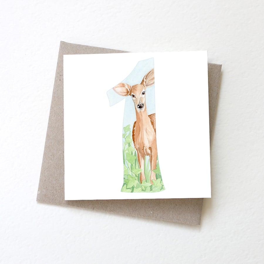 Image of One Deer