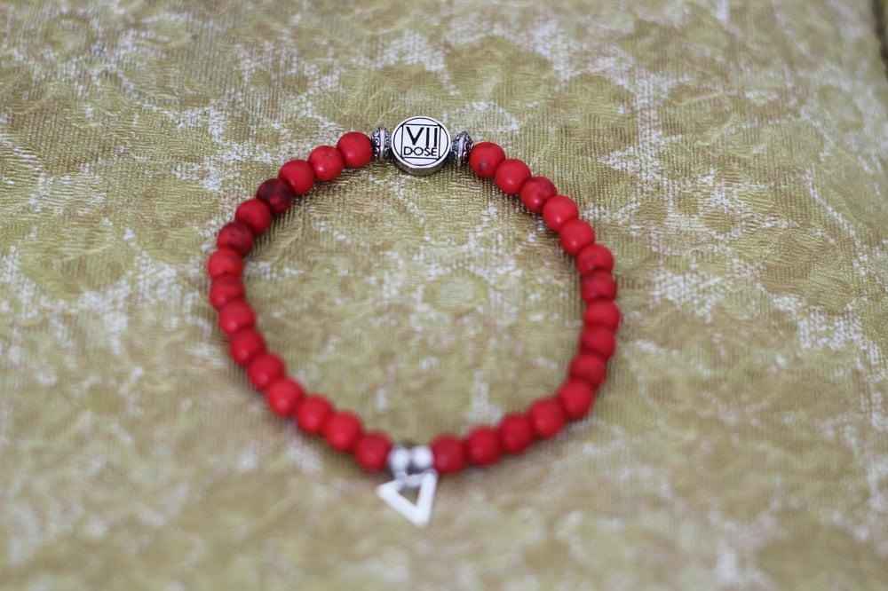 "Image of ""TRIumphant"" Energy Jem Bracelet (RED) - VII DOSE X KuvLi"